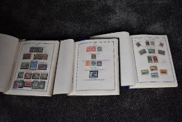 Three albums containing World & Commonwealth Stamps, mint & used, Victoria to 1960's, including
