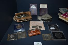 A collection of coins, including two festival Britain 1951 coins, readers digest and more.