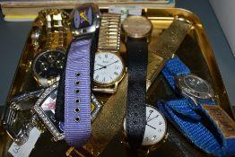 A selection of fashion wrist watches including Sekonda, Limit, Nike etc