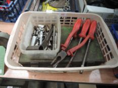 A quantity of tube spanners an more.