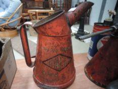 A rare Vitafilm Oil jug around 1920s/30s.