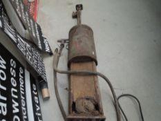 An original Bowser garage forecourt petrol pump, with original hose and nozzle.AF.