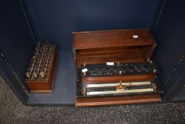 A vintage Cambridge Instrument Co Ltd Callendar and Griffith Resistance Bridge and a WG Pye and Co