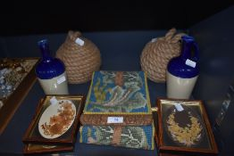 A selection of collectables including crafts and decorations