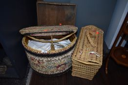 A selection of sewing craft and haberdashery items