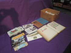 A collection of GB & World Stamps in albums & loose, mint & used