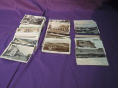 A collection of postcards, mainly of Kendal and surrounding area, including real photo's