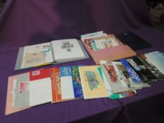 A New Zealand Collection including First Day Covers, Stamp Packs, Good Album etc