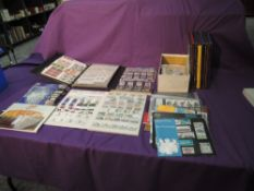 A Collection of GB Yearbooks, Collectors Packs, Two Mint Stamp Albums and Stamp Books