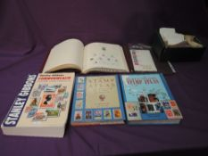 A collection of mint and used World Stamps in envelopes, albums of Commonwealth Stamps plus Stamp
