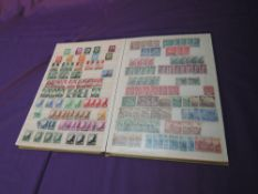A Stock Book of German early 1940's duplicated Stamps, mint and used, good mini sheet seen
