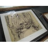 A limited edition serigraph print on paper after Salvidor Dali titled Destino #65, number 235/250