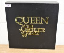 Queen the complete works, a 14 album box set includes book and poster.