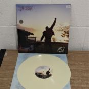 Made in heaven limited edition white vinyl with gatefold sleeve.