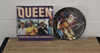 Two rare interview and press conference albums.