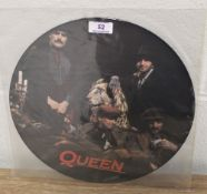 A kind of magic 12' picture disc.