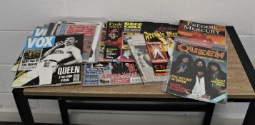 A large collection of magazines and cuttings, some rare items.