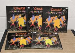 Queen kind of magic, five copies including shrink wrapped Canadian press.