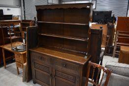 An oak dresser , Old charm or similar, width approx. 122cm