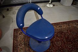 A vintage industrial style chair