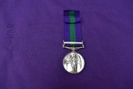 A General Service Medal with Palestine 1945-48 Bar, named to AS.4796 PTE.M.Makoko A.P.C. (African