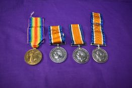 A pair of WW1 Medals, War Medal and Victory Medals, both named ENG. Commr.C.H. Silverlock. R.N.R.