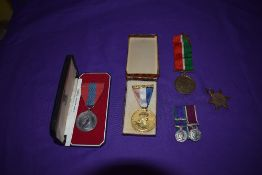 A Collection of Medals, Imperial Service Medal, named, Queen Elizabeth II Service and Coronation