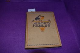 Children's. Aesop's Fables. Illustrated by Nora Fry. London: George G. Harrap & Co. 1927. With 8