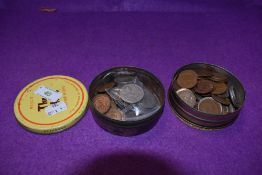 A small collection of GB Coins including Silver