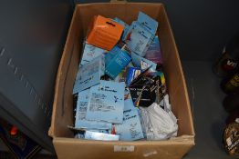 A large box of ink cartridges, for Epsom and similar.