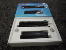 A Broadway Limited Blueline HO scale 4-8-4 New York Central Loco & Tender 6016, in original box