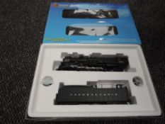 A Broadway Limited Blueline HO scale 4-8-2 Pennsylvania Loco & Tender 6794, in original box 5037