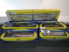 Two Athearn (China) HO Scale Maryland & Pennsylvania 1504 and Frisco 761 Locomotives, both boxed