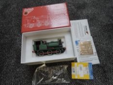 A Ixion Model Railways Ltd (China) 0 Gauge Hudswell Clarke 0-6-0 Standard Contractors Tank Engine,