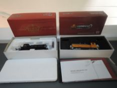 Two Broadway Limited Imports (China) Paragon Series (1&2)HO Scale New York Central EMD Switcher