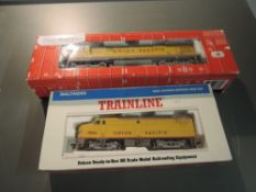 Two HO Scale Union Pacific Locomotives, Atlas & Walthers, both boxed