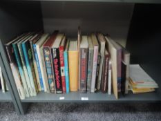 A shelf of mixed vintage Toy related volumes, catalogues and leaflets including Triang Toys,