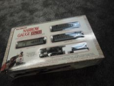 A Bachmann (China) 0 gauge Narrow Gauge Express, Colorado & Southern set in original box 25002