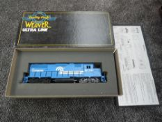 A Weaver (USA) Ultra Line 0 Gauge Two Rail Conrad GP 38-2 Diesel Locomotive 8110, boxed