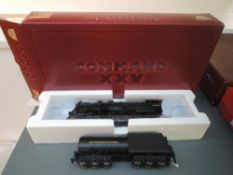 A IHC (USA) Premier Gold Series HO scale 2-10-2 Santa Fe Loco & Tender 6185, boxed