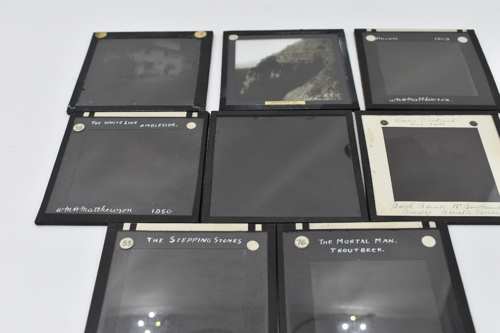 A collection of ten boxes of glass slide mainly Lake District interest - Image 2 of 2