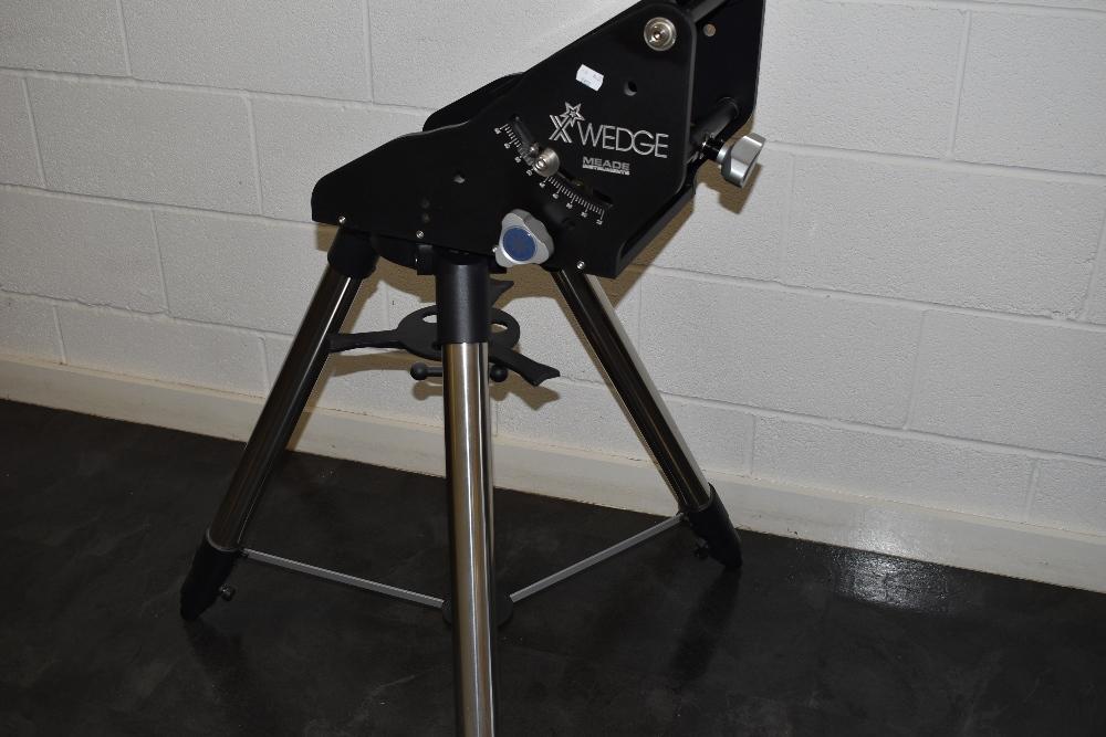 A Meade LX200 twelve inch ACF telescope in a Peli 0550 case with a Meade X Wedge tripod, a Meade - Image 4 of 5