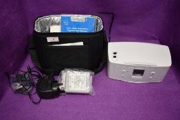 A HP Photosmart 330.