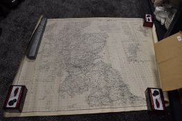 A large collection of vintage O/S maps and graphs, surveys and more, of pot holing and local