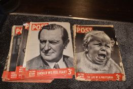 Fifteen copies of Picture post magazine,earliest dated August 19th 1939.