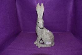 An ornamental hare.