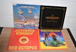 A lot of Jefferson Airplane / Starship albums
