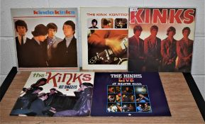 A lot of five Kinks reissues in Ex - nice pressings and fantastic music