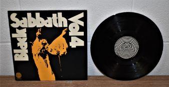 A UK Press of Black Sabbath VOL 4 on Vertigo - first press - would benefit from a pro clean - VG+