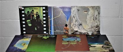 A lot of 6 original albums by Yes - progressive rock interest